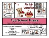 Valentine Theme - Grow With Me Little Bear Tot School - 1