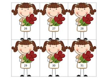 Valentine Theme Math Centers