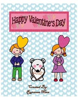 Valentine Day Theme Worksheets