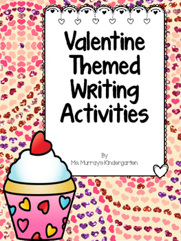 Valentine Theme Writing Activity