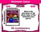 Valentine Themed Area and Perimeter PowerPoint Games- 4 Games