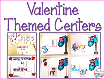 Valentine Themed Centers