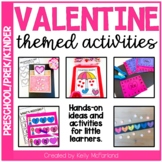 Valentine Themed Centers and Activities for PreK