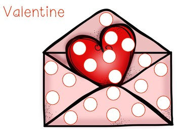 Valentine Themed Do-a-Dot Pages