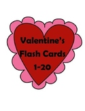 Valentine's Day Flashcards (Numbers 1-20)