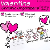 Valentine-Themed Graphic Organizers {For Any Story!}