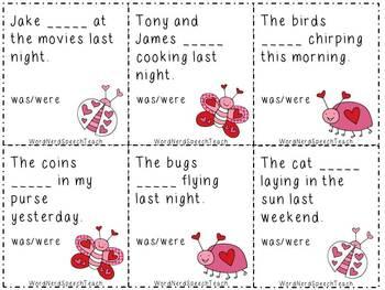 Valentine-Themed Speech and Language Bundle