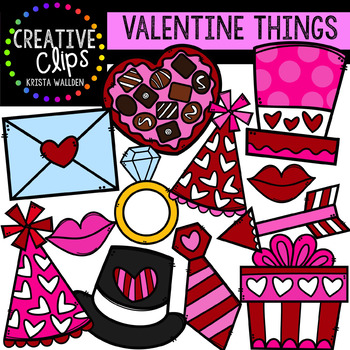 Valentine Things: Valentine Clipart {Creative Clips Clipart}