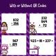 Valentine Three Digit Addition & Subtraction Task Cards wi