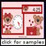 Valentine Time (2.MD.7) (Telling Time to 5 Minutes)