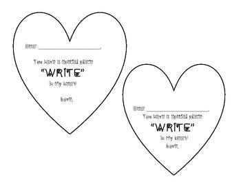Valentine To Student From Teacher