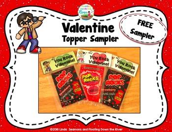 Valentine Topper Sampler FREEBIE