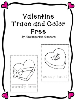 Valentine Trace and Color -Free