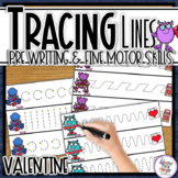 Valentine Tracing Lines for Path of Motion & Fine Motor Skill development