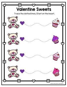 Valentine Tracing Printables
