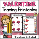 Valentine's Day Tracing Printables