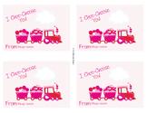 Valentine Train Valentine Cards