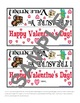 Valentine Treat Bag Toppers Unit from Teacher's Clubhouse