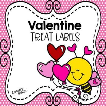Valentine Treat Labels