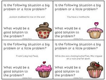 Valentine Treats Big Problems, Little Problems: A Social Skills Activity