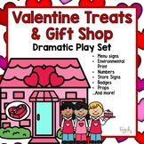Valentine Treats & Gifts Dramatic Play:  Signs, Props, & MORE!