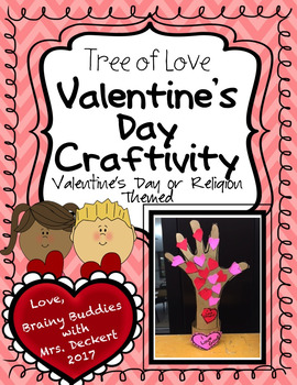 Valentine Tree of Love / I Love God & Others Tree Craftivity