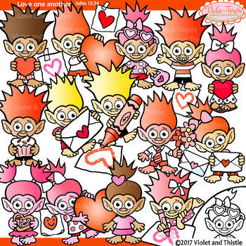 Valentine Trolls Clipart Valentine Mailbox Card Heart Drawing Clip Art Clipart
