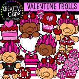 Valentine Trolls: Valentine Clipart {Creative Clips Clipart}