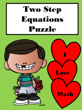 Two Step Equations Puzzle