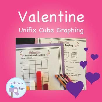 Valentine Unifix Cube Graphing Unit