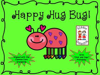 "Valentine's Day Unit ""Happy Hug Bug"""