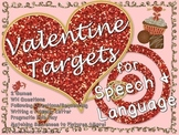 Valentine Speech Therapy Unit Language Activities Articulation Social Skills