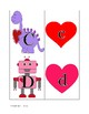 Valentine Upper and lower case letter match