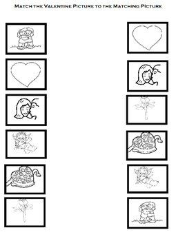 Valentine, Valentine, What Do You See? BW Printable book and worksheets