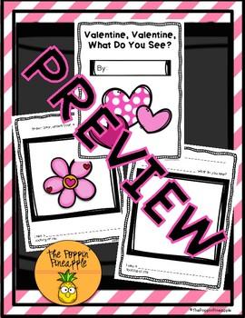 Valentine, Valentine, What Do You See? (Write an Original Class Story)
