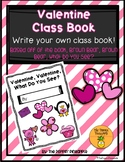 Valentine, Valentine, What Do You See? (Write an Original Class Story)