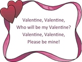 Valentine, Valentine: a rhythm and melody reading powerpoint