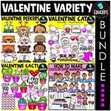 Valentine Variety Clip Art Bundle {Educlips Clipart}