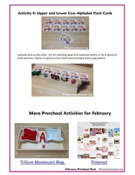 Valentine Vehicles Preschool Pack for February