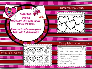 Valentine Verbs
