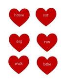 Valentine Verb and Noun Sort