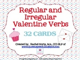 Valentine Verbs {Regular and Irregular Past Tense}