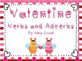Valentine Verbs and Adverbs Activities