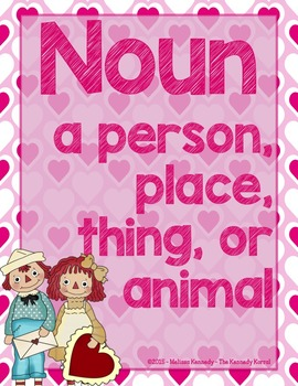 Verbs and Nouns: Valentine's Day