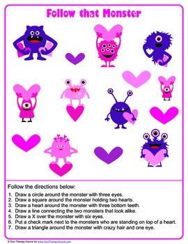 Valentine Visual Perceptual Puzzles