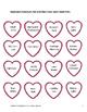 Valentine Vocabulary Activity Packet - First Grade (1st Gr