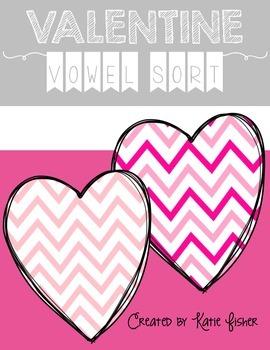 Valentine Vowel Sort