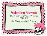 Valentine Vowels