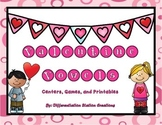 Valentine Vowels: CVC Words, Medial Vowel Sounds, Center & Printables