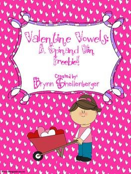 Valentine Vowels Freebie